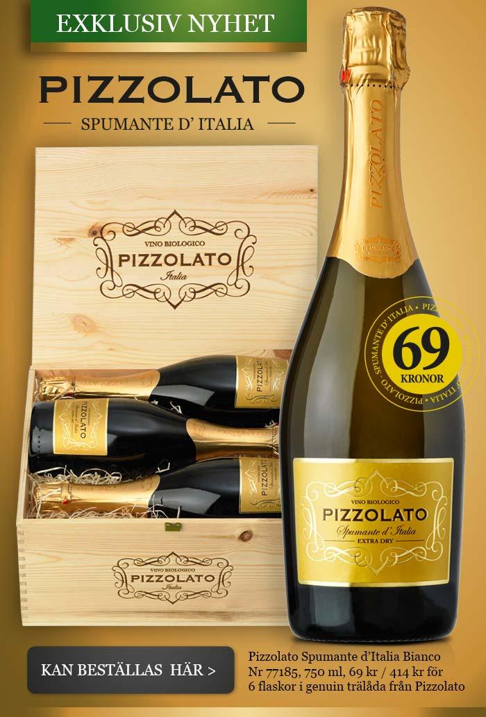 Exklusiv nyhet - Pizzolato Spumante d'Italia