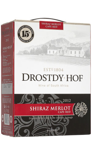 Drostdy-Hof Cape Red Shiraz Merlot