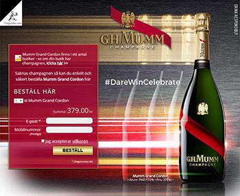 Mumm Grand Cordon
