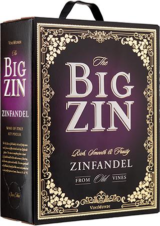 The Big Zin Zinfandel Old Vines 2018 300 Cl Vinguiden Com