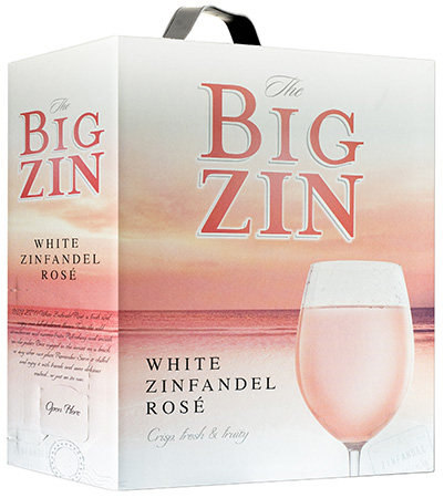 The Big Zin Rosé Zinfandel