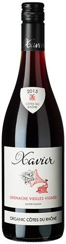 Xavier Côtes-du-Rhône Grenache Vieilles Vignes Organic