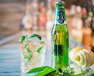 Årets alkoholfria öldrink – Carlsberg Basilikabl..