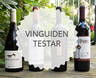 Vi testar 4 röda viner med ekostämpel