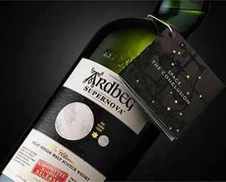 Ardbeg släpper sin sista rymdwhisky