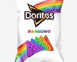 Doritos Rainbows – Chips som stöttar HBTQ Commun..