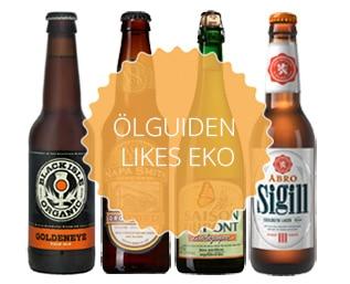 På jakt efter en god eko-öl? Vi testar 4 olika ö..