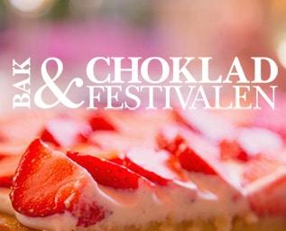 Stilla ditt sötsug på Bak & Chokladfestival..