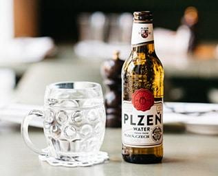 Pilsner Urquell lanserar Plzen Water