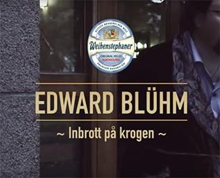 Edward Blom gör inbrott och öppnar pop-up restau..