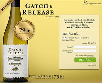 Catch & Release by Huntyard Sauvignon Blanc