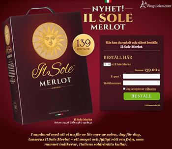 il Sole Merlot