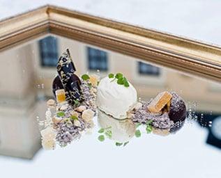 Majestätisk dessert från Rånäs Slott