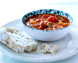 En sportig soppa