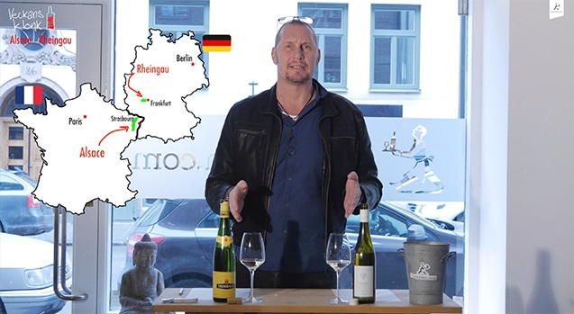 Alsace vs Rheingau