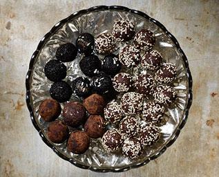 Söt- & saltlakritsbollar