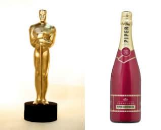 Fira Oscarsgalan med champagne