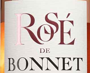 Réserve de Bonnet Rosé