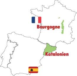 champagne distrikt karta Cava vs Crémant   Vinguiden.com champagne distrikt karta