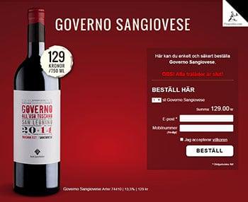 Governo Sangiovese