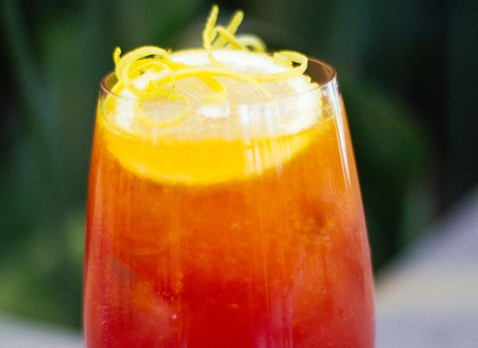 Fresita drink: Negronita