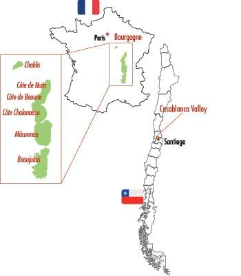 Karta för Veckans Klonk 10 - Chardonnay