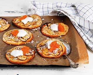 Potatispizza med löjrom