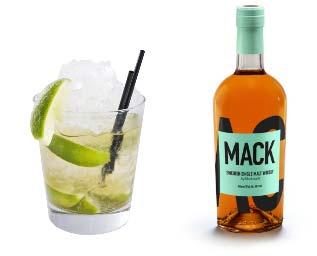Sommardrink med whiskybas