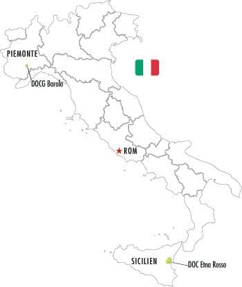 Veckans Klonk 13 - Sicilien vs Piemonte karta