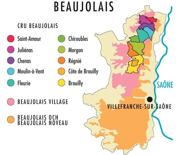 Veckans Klonk 18 Beaujolais Karta