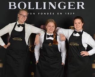 Finalisterna i Lily Bollinger Award