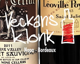 Napa vs Bordeaux