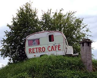 Retro Café i Boden