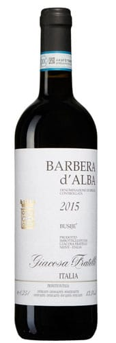 Barbera d'Alba Busije