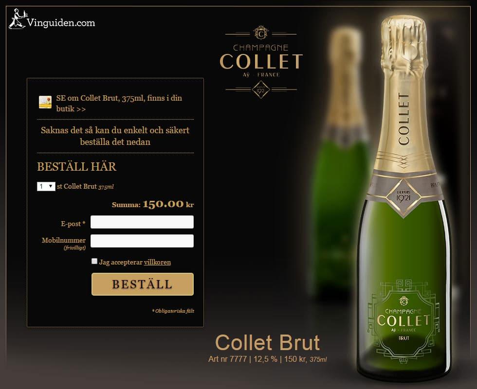 Collet Brut, 375ml