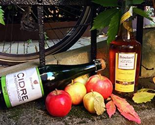 Äpplen, cider och calvados