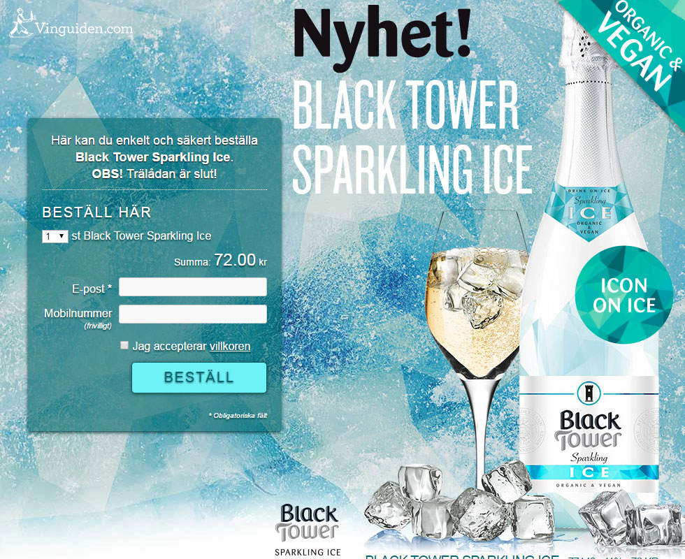 Black Tower Ice Sparkling