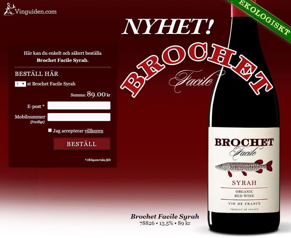 Brochet Facile Syrah