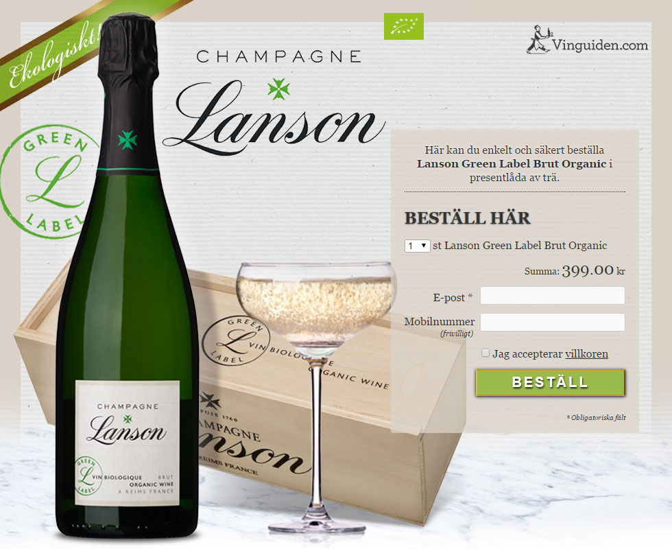 Lanson Green Label Brut Organic