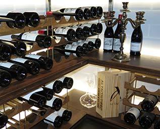 Opretentiöst, vällagat och mycket vin