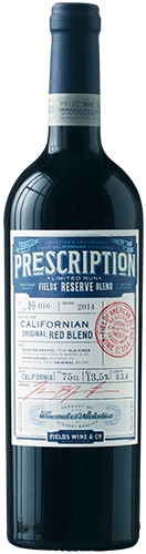 Prescription Reserve Zinfandel Petit Sirah Merlot