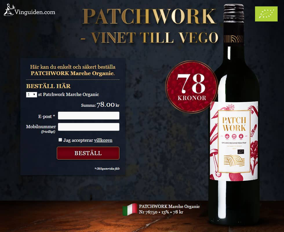 Patchwork Marche Organic
