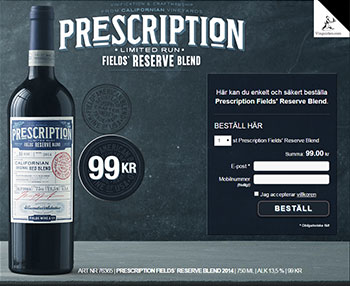 Prescription Fields' Reserve Blend
