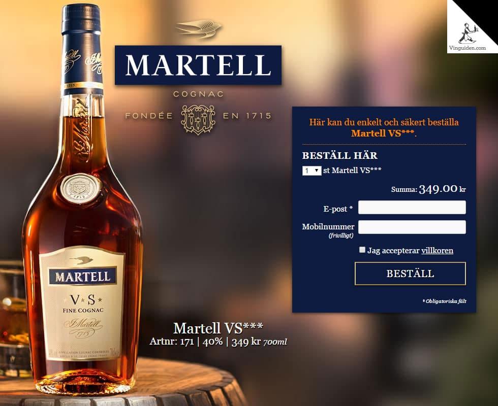 Martell VS***