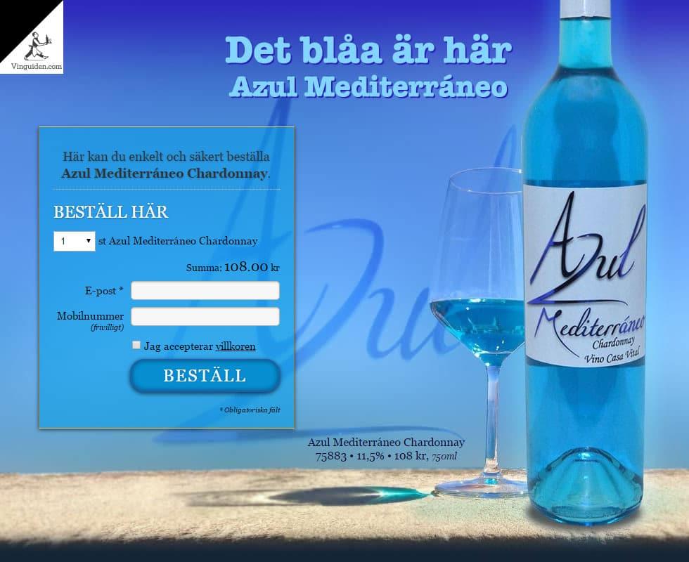 Azul Mediterráneo Chardonnay