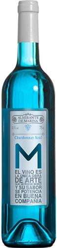 Marques de Alcantara Vino Azul Blue Chardonnay