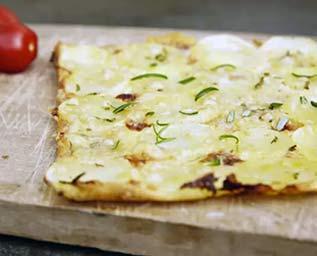 Potatispizza med rosmarin