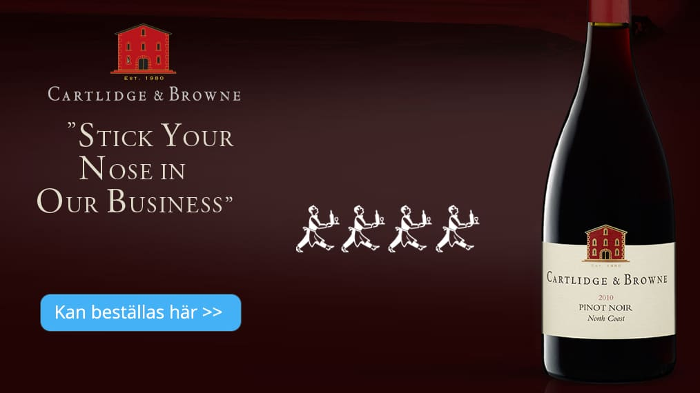 Cartlidge & Browne Pinot Noir