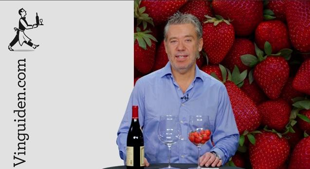 Kan ett vin smaka jordgubbar?