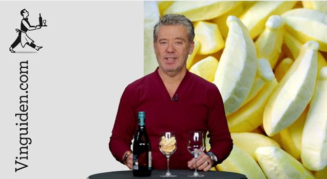 Kan ett vin smaka skumbanan?